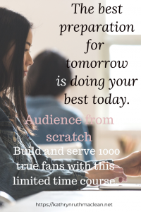Audience from Scratch
